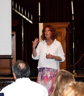 Speaking at church
